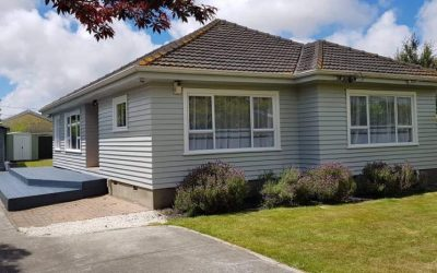 Full Exterior Weatherboard Repaint in Mairehau, Christchurch