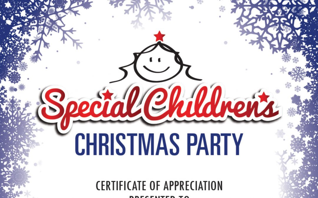 Canterbury Special Children's Christmas Party 2019